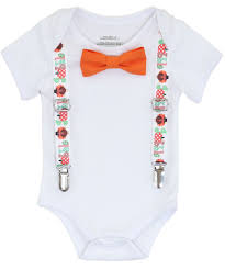 infant thanksgiving thanksgiving for baby boy gobble suspenders with bow tie