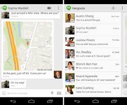 hangouts app android hangouts gets animated gifs and sms support