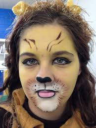 wizard of oz lion face makeup mugeek vidalondon