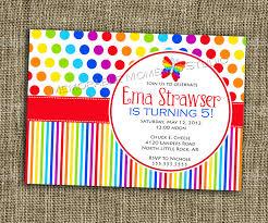 rainbow birthday party invitations u2013 gangcraft net