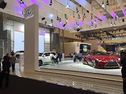 lexus suv jakarta indonesia international auto show 2015 highlights asia 361