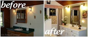 Bathroom Remodels Before And After A Super Budget Bathroom Makeover Fox Hollow Cottage