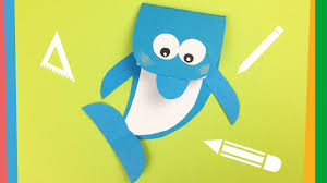 dolphin notebook diy creative and easy back to craft for