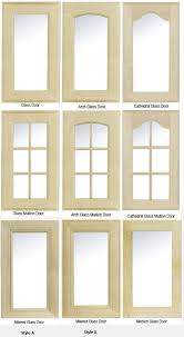 Kitchen Cabinet Doors Glass Arched Cabinet Doors With Glass Mf Cabinets Regard To Kitchen