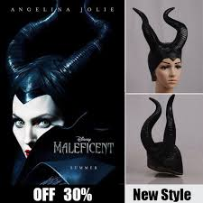 Halloween Costume Maleficent Aliexpress Buy Maleficent Cosplay Props Horn Women