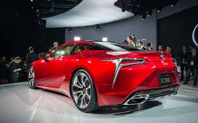 lexus coupe concept new and stunning lexus lc 500 debuted at naias 2016