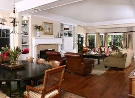 Newport Beach Plantation Style Traditional Living Room - Plantation style interior design