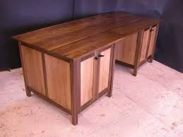 Walnut Computer Desks Custom Computer Desks Credenzas Dumond S Custom Furniture