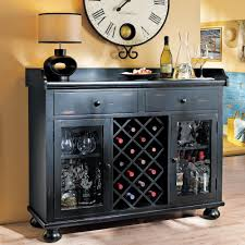 black wine rack console table wine rack console table design