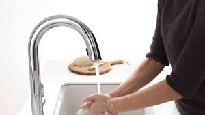 bisque kitchen faucets bisque kitchen faucets sensor kitchen faucet white pull