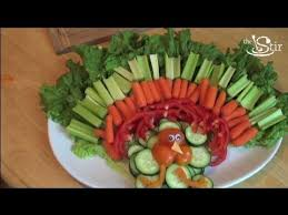 turkey riffic thanksgiving veggie tray crafty s weekly