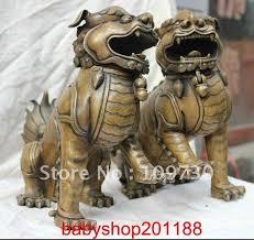 foo dog statue for sale aliexpress buy 10 bronze fengshui foo dog statue