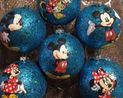 Mickey And Minnie Outdoor Christmas Decor by Mickey And Minnie Etsy