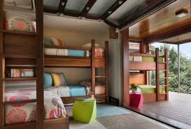 Built In Bunk Bed 50 Modern Bunk Bed Ideas For Small Bedrooms