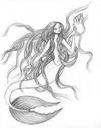 51 vintage mermaid art u003c3333 images mermaid art
