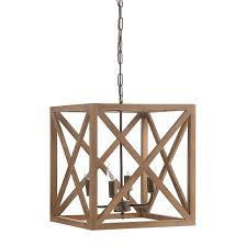 Chandelier Metal Modern Metal Wood Chandelier Target On And Cintascorner