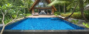 garden villa pool maldives l the st regis maldives