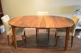 round wood table with leaf dining tables boulder furniture arts
