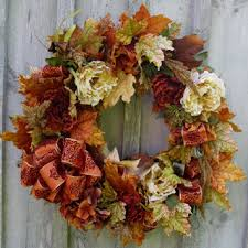 uncommon fall front door wreath decorating fall wreath diy autumn