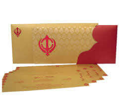 sikh wedding cards indian wedding cards 4u exclusive designer wedding invitation cards