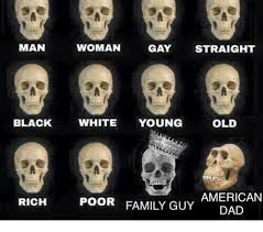 Gay Black Guy Meme - man woman gay straight old black white young poor american family