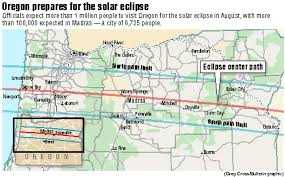 map of oregon showing madras madras ups eclipse attendance estimate to 100 000 new website for
