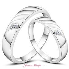 silver nice rings images Nice lovers couples rings water ripples 925 silver white gold jpg