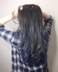 beautiful gray hair streaks best 25 blue hair highlights ideas on pinterest brown hair blue