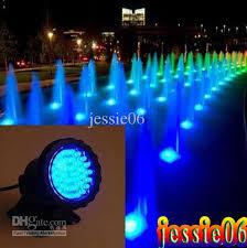 submersible led fountain lights fully submersible 36 leds spotlight bule aquarium led light pond