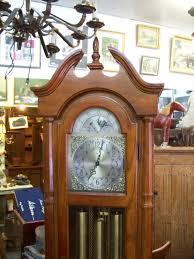 Ridgeway Grandmother Clock Ridgeway Great Grandfather Clock Circa 1960 1970 Antiques