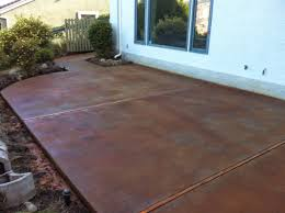 Stain Concrete Patio by Give New Life To Your Concrete With Acid Stain Concrete Patio