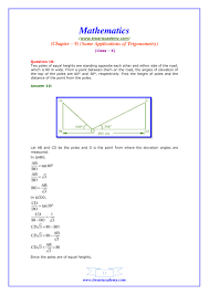 ncert solutions for class 10 maths chapter 9 exercise 9 1 study online