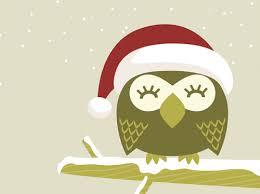 owl christmas my owl barn christmas owl desktop wallpaper