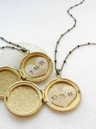personalized photo locket necklace buy a made initials and date locket necklace heart locket