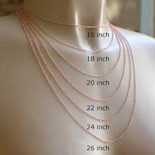copper necklace chains images 28 or 30 inch copper chain thin oval cable 1 7mm delicate wish jpg