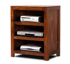 Narrow Wooden Bookcase by Handcrafted Solid Wood Tv Unit Small Casa Bella Furniture Uk