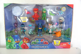 mum uk family lifestyle blog pj masks deluxe figures review