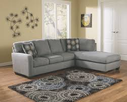 signature design by ashley living room zella charcoal right chaise