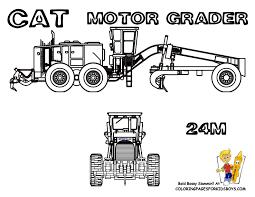 coolest construction coloring pages excavators free road