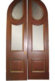 large pair of arched victorian entrance doors olde good things