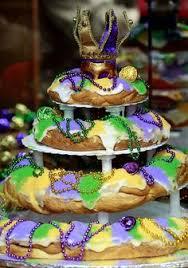 king cake for mardi gras mardi gras king cake tower by chesa lefet mardi gras louisiana