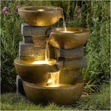 backyards cozy fountain for backyard outdoor fountain designs