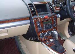 custom land rover lr2 land rover freelander 2 lr2 l359 2006 2014 dash kit walnut