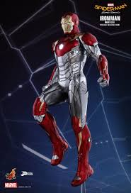 our best look yet at iron man u0027s new suit from spider man homecoming