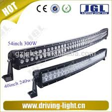 52 inch led light bar cover free cover 300w led light bar cover 4x4 curved bar for truck 54