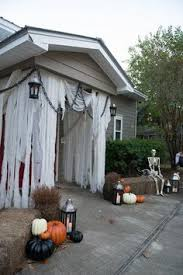 Outdoor Halloween Decoration Ideas Cool Outdoor Halloween Decorations Halloween Parties Decoration