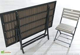 table jardin pliante pas cher meubles de jardin pliants mc immo photo mobilier table et chaise