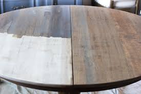 weathered oak dining table makeover bless u0027er house