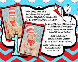 dr seuss invitations dr seuss 1st birthday invitations cimvitation