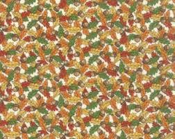 autumn fabric etsy